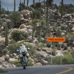 Riding the twisties in Baja Mexico