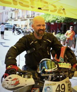 Scott Bright American Dakar Rally competitor