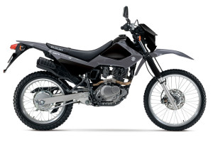 2016 Suzuki Models and Pricing DR200S black and gray