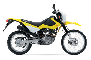 2016 Suzuki Models and Pricing DR200S yellow