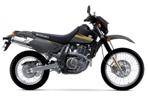 2016 Suzuki Models and Pricing DR650S balck and gray