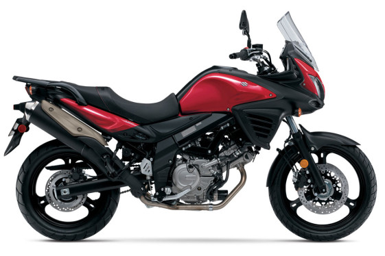 2016 Suzuki V-Strom 650 ABS DL650 Red