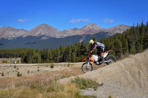 Chris Fillmore at the KTM Adventure Rally 2015