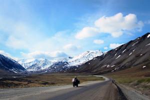 Pruhoe Bay Alaska motorcycle trip