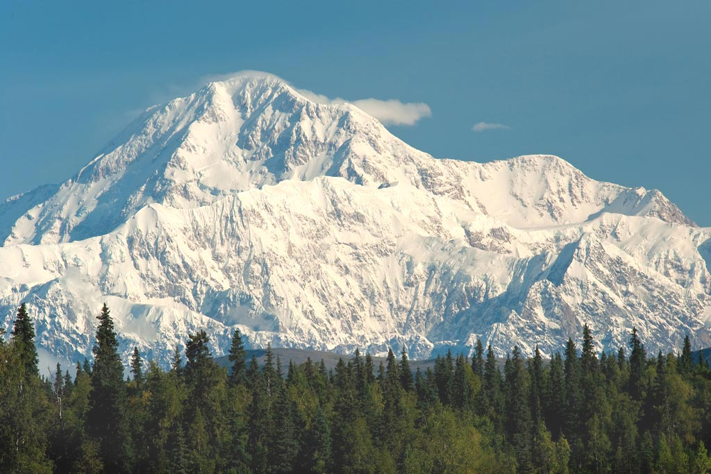 View of Mt. McKinley 'Denali' from Petersville Rd