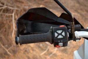 KTM 1190 adventure r handlebar controls