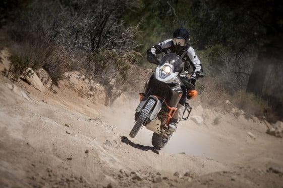KTM 1190 adventure r hill climb