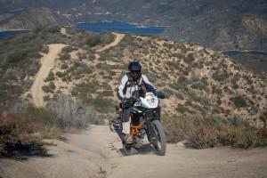 KTM 1190 adventure r lake silverwood climb