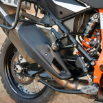 KTM 1190 adventure r review heatshield