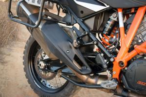 KTM 1190 adventure r review heatshield