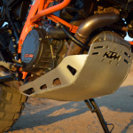 KTM 1190 adventure r skidplate withstood abuse