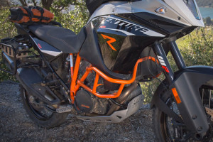 ktm 1190 adventure r steel crashbars