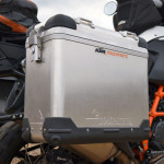 KTM 1190 adventure r touratech panniers