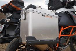 KTM 1190 adventure r touratech panniers