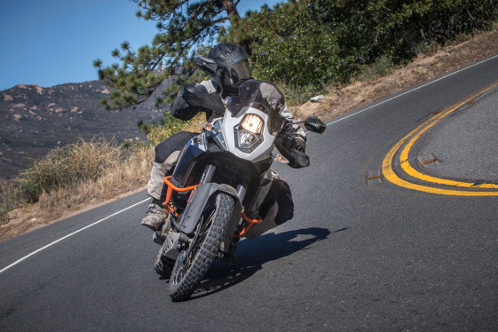 KTM 1190 adventure r twisty asphalt backroads