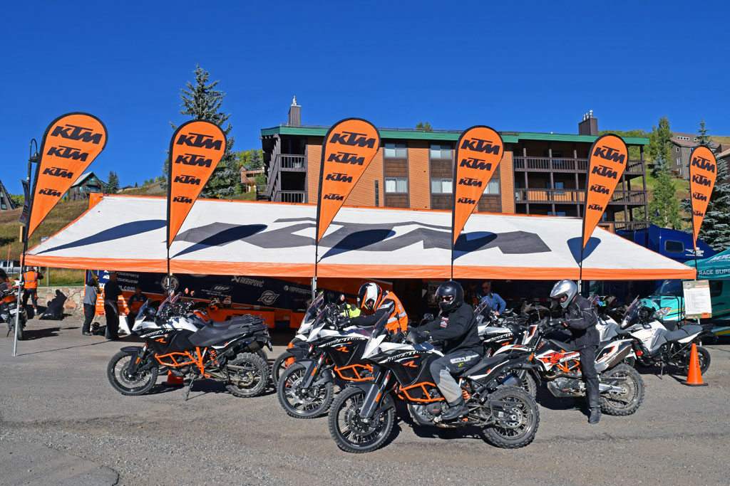 ktm adventure rally 2015 takes over crested butte - adv pulse