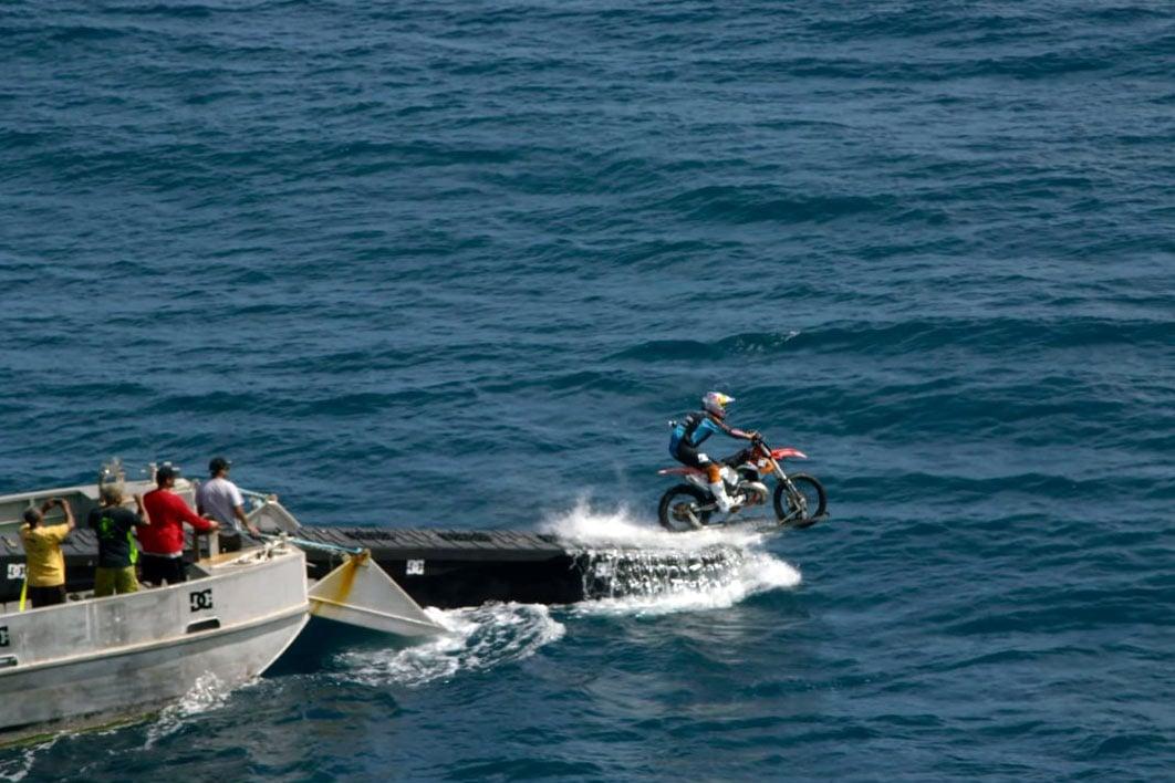 bike being rescued