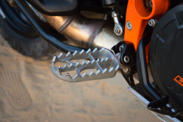 serrated rally platform footpegs ktm 1190 adventure r