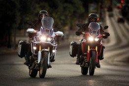 Honda CRF1000L Africa Twin Tall Touring Windscreen