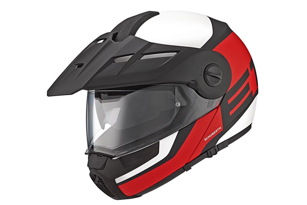 Schuberth E1 Adventure Helmet, Dual Sport Helmet