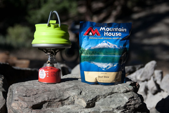 Sea to summit x-set 11 cooks freeze-dried meals