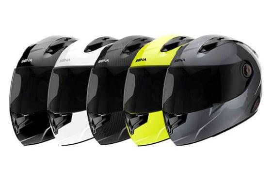 Sena noise cancelling smart helmet colors