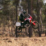 CRF1000L Africa Twin Jump