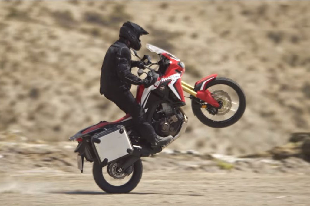 honda teases us with a new interactive africa twin video. Black Bedroom Furniture Sets. Home Design Ideas