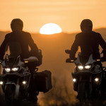 CRF1000L Africa Twin sunset