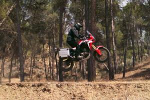 CRF1000L Africa Twin Jump