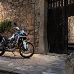 CRF1000L Africa Twin at the gate