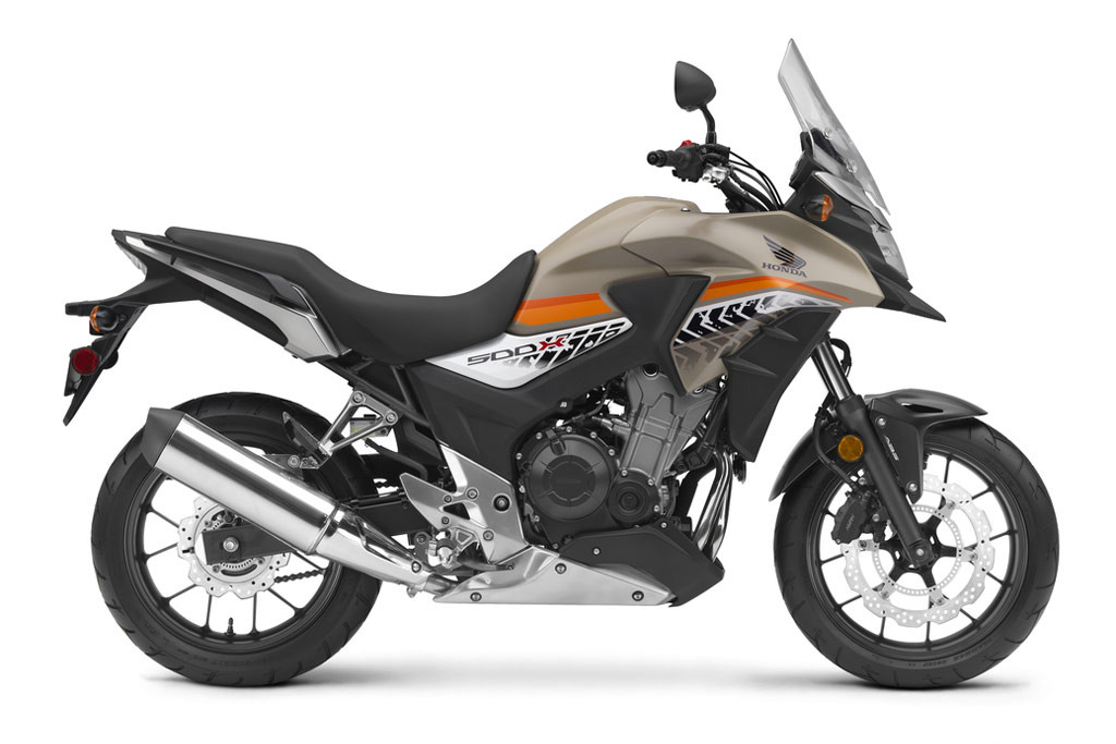 2016 Honda CB500X changes