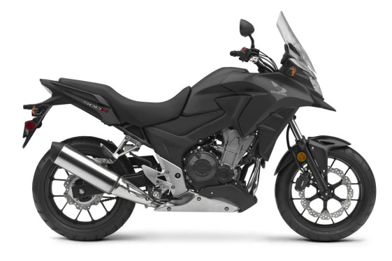 2016 Honda Adventure Bike Models - CB500X Matte Black Metallic