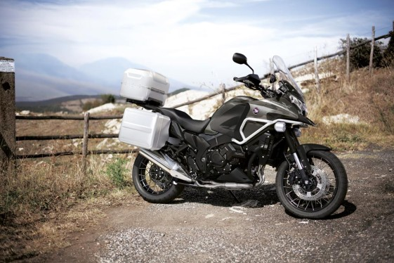 VFR1200X Crosstourer off-road