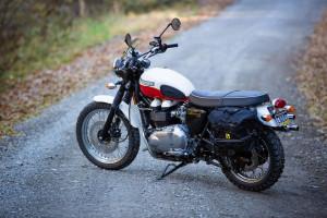 Triumph Scrambler Adventure Bike