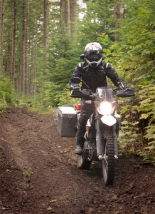 Riding with the Bell MX-9 Adventure off-road