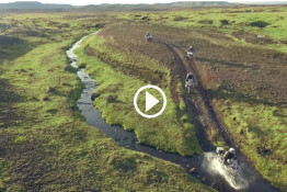 Riding Motorcycles in Iceland