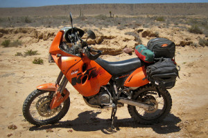 KTM 640 Adventure Soft bags