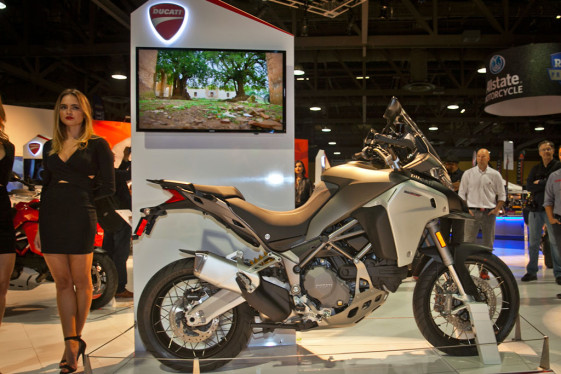 2016 Ducati Multistrada Enduro at the Long Beach International Motorcycle Show