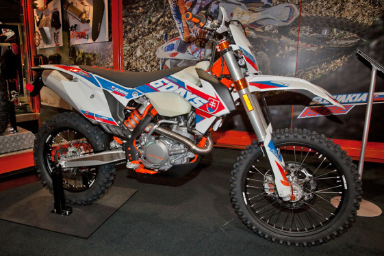 2016 KTM 500 EXC Six Days at the Long Beach International Motorcycle Show