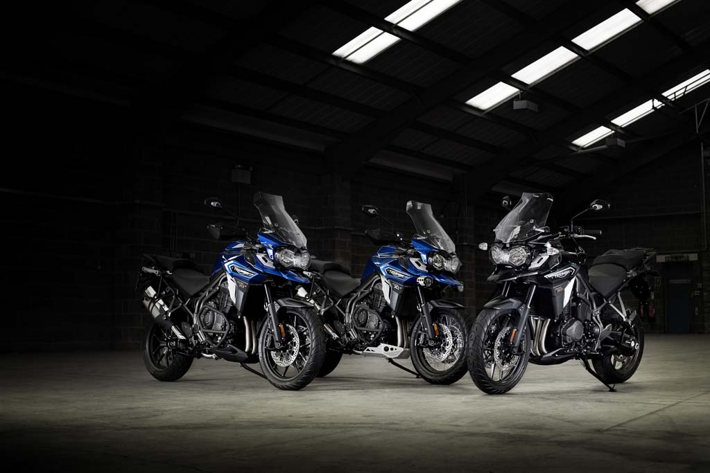 The 2016 Triumph Tiger Explorer Offers More Optionore Choices For Potential Ers To Customize Their Ride