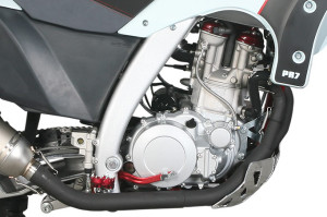AJP PR7 600cc Engine built by SWM