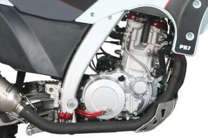 AJP PR7 600cc Engine built by SWM