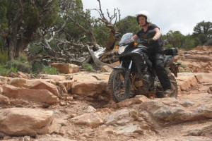 Honda CB500X Adventure In Moab