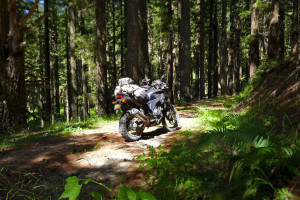 Honda CB500X Adventure In Oregon