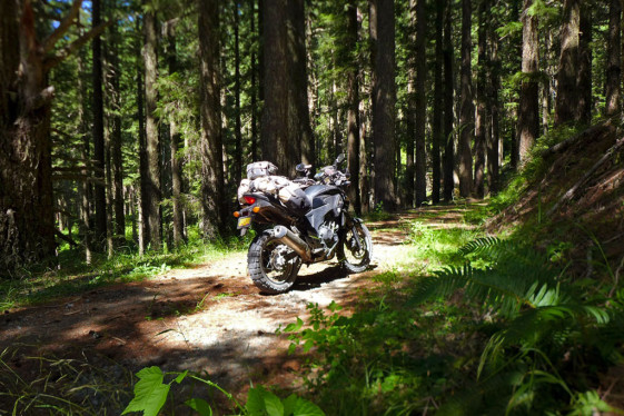 Honda CB500X Adventure In Oregon