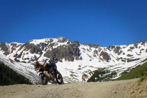 CB500X Adventure Ophir Pass Colorado
