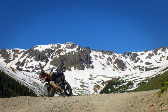 CB500X Adventure Ophir Pass Colorado
