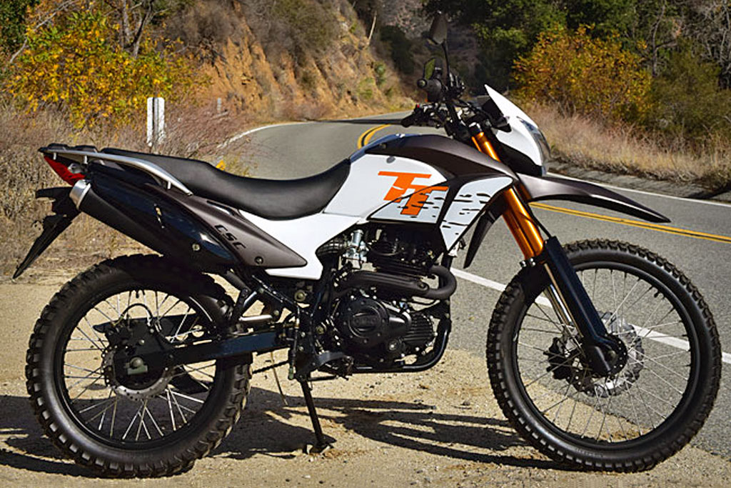 For A Limited Time Csc Motorcycles Is Offering The New Tt 250 Dual Sport Motorcycle 1 895