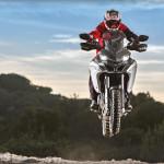 2016 Ducati Multistrada 1200 Enduro jumping